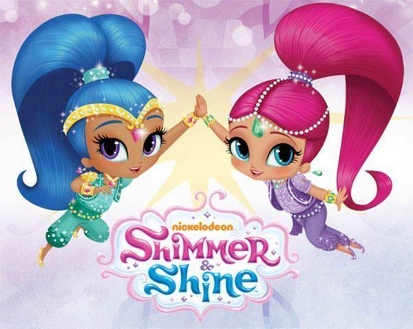 Shimmer e Shine la festa