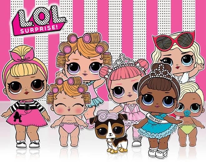 LOL Surprise le bambole alla moda