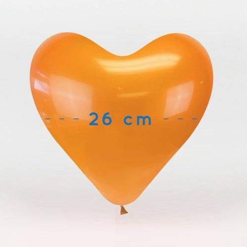 Palloncini lattice cuore 26 cm