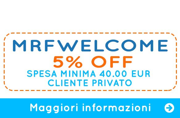 Coupon Welcome | Mister Festa