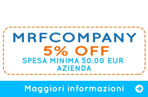Coupon Welcome Aziende | Mister Festa