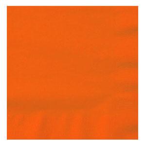 Tovaglioli arancione 20 pezzi