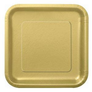 Piatti oro grandi 14 pezzi