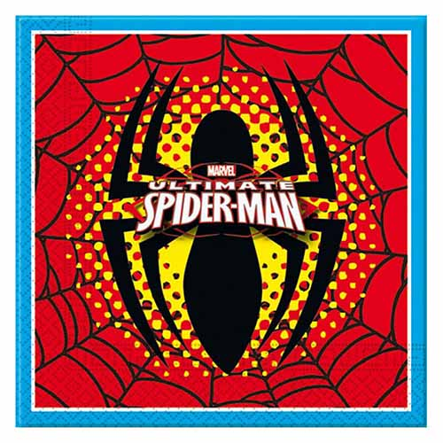 Tovaglioli Spider-Man 20 pezzi