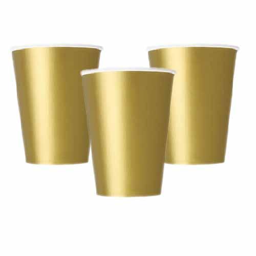 Bicchieri oro 14 pezzi