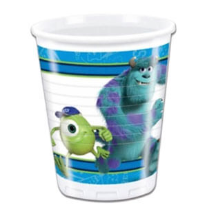 Bicchieri Monsters University 8 pezzi