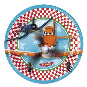 Piatti Planes Disney grandi 8 pezzi
