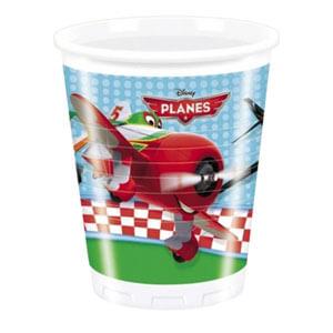 Bicchieri Planes Disney 8 pezzi