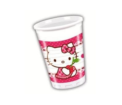 Bicchieri Hello Kitty 8 pezzi
