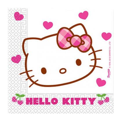 Tovaglioli Hello Kitty 20 pezzi