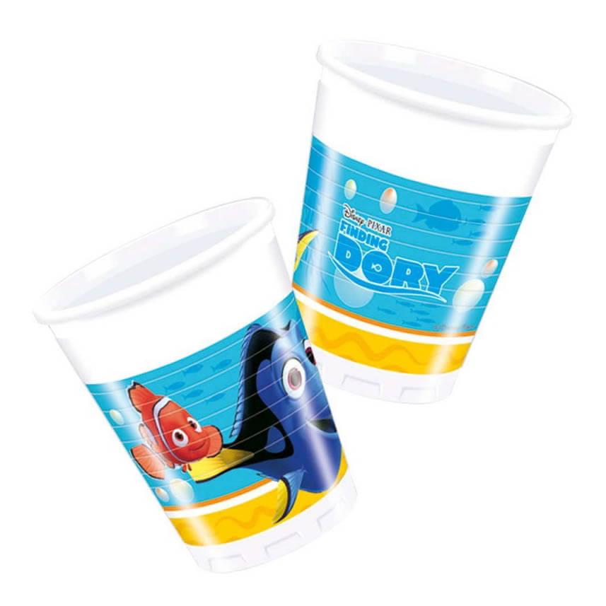 Bicchieri Alla Ricerca di Dory 8 pezzi