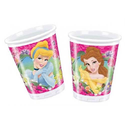 Bicchieri Principesse Disney 8 pezzi