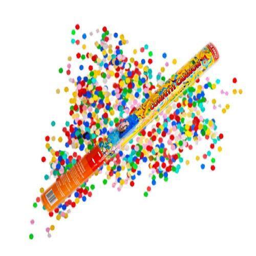 Cannone coriandoli multicolore 1 pezzo