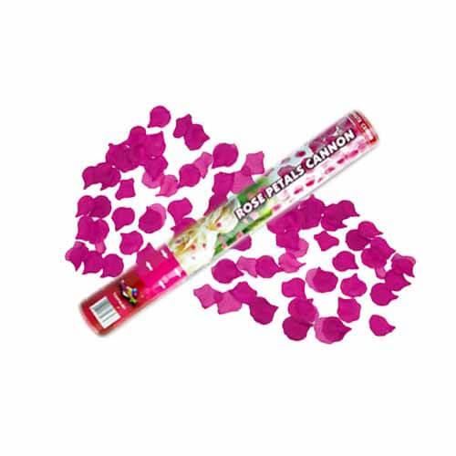 Cannone petali di rosa rosa pastello 1 pezzo