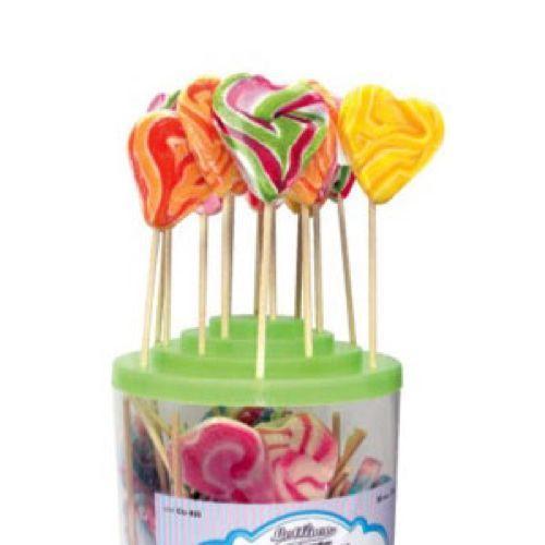 Lollipop cuore piccolo mix 1 pezzo