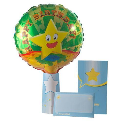 Palloncino nel biglietto Lucky Star Air-Oh-Mail 1 pezzo