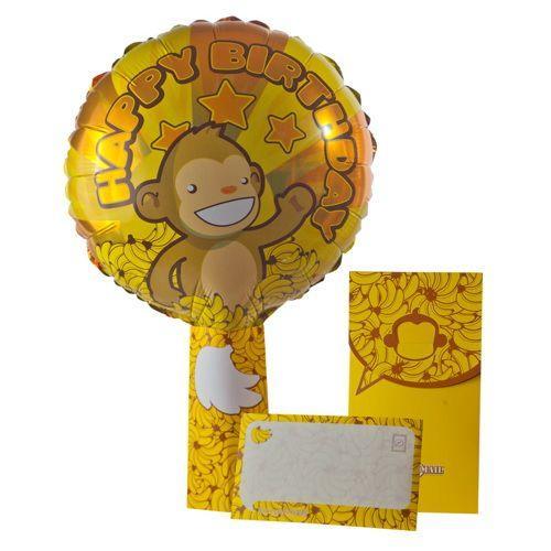 Palloncino nel biglietto Bananas Air-Oh-Mail 1 pezzo