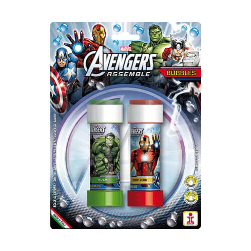 Avengers bolle di sapone 2 pezzi
