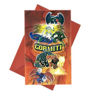 Inviti festa Gormiti con buste 6 pezzi