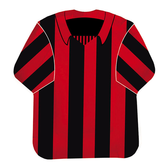 Piatti Milan maglietta 10 pezzi