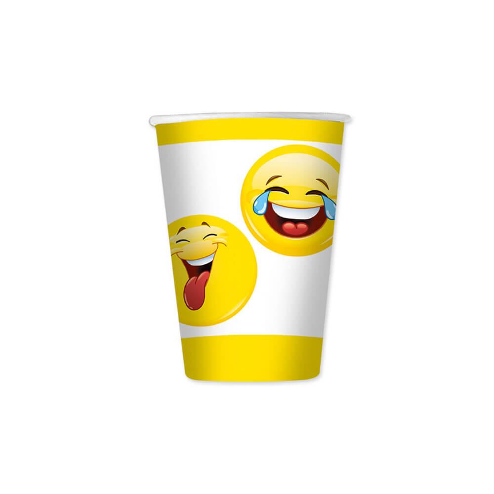 Bicchieri Emoji 8 pezzi