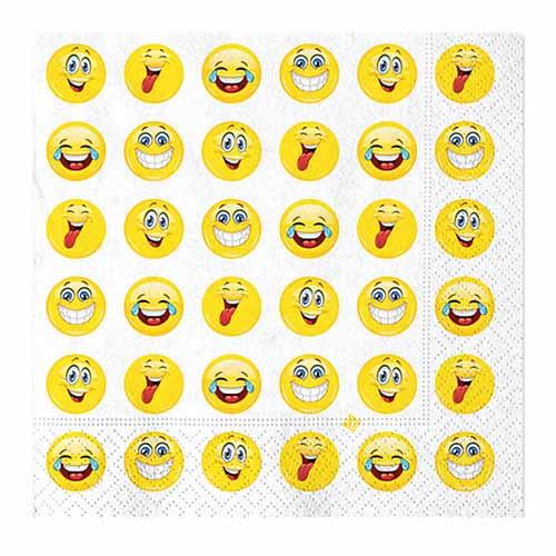 Tovaglioli Emoji 20 pezzi
