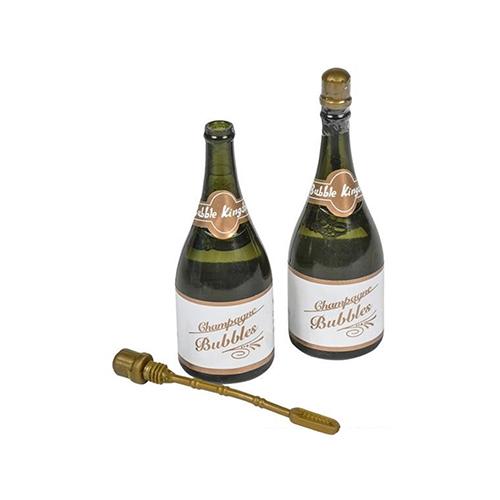 Bolle di sapone nella bottiglia di champagne 1 pezzo