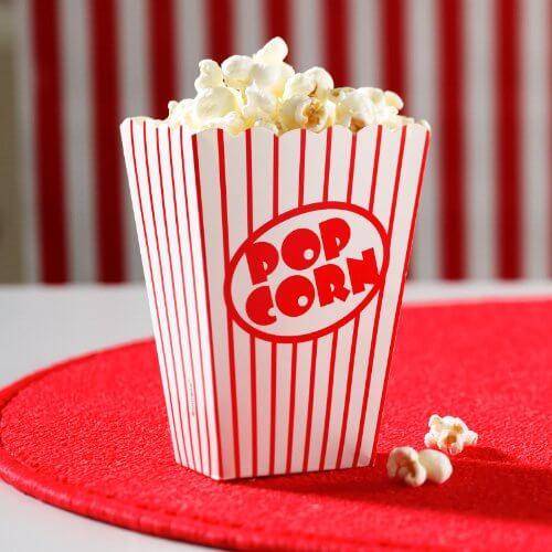 Contenitore popcorn 8 pezzi