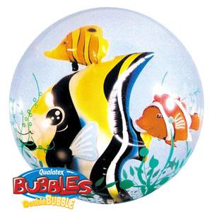 Palloncino Pesci tropicali Double-Bubble 61cm 1 pezzo