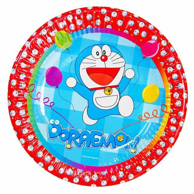 Piatti Doraemon grandi 10 pezzi