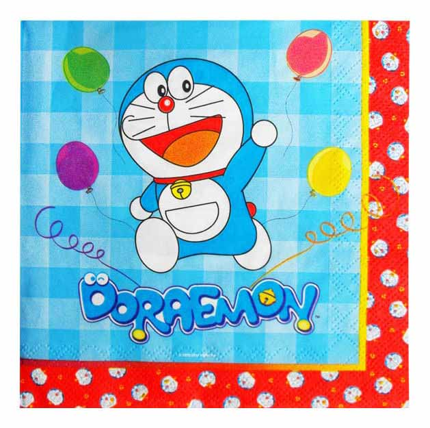Tovaglioli Doraemon 20 pezzi