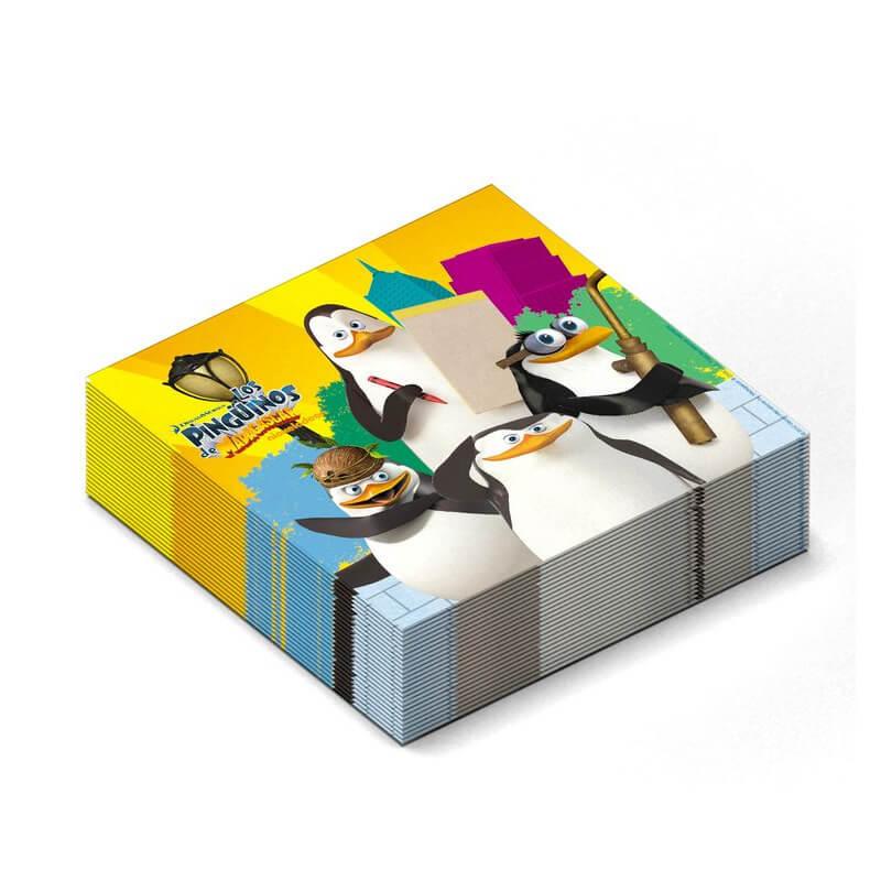 Tovaglioli I Pinguini di Madagascar 20 pezzi