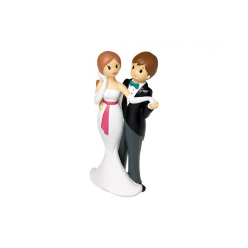 Topper sposi tango 1 pezzo