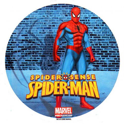 Cialda Spider-Man 1 pezzo