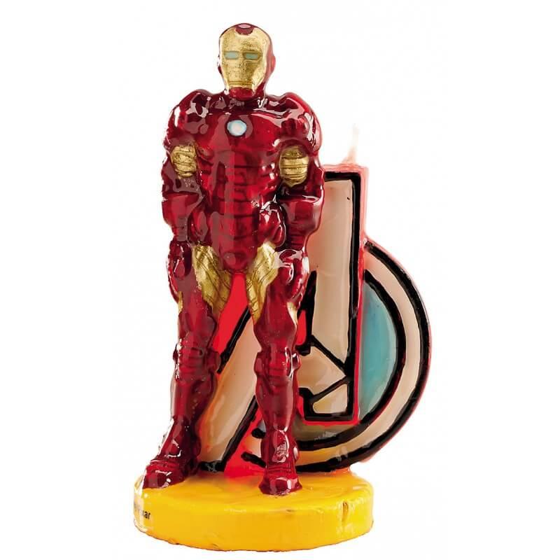Candelina Avengers Iron Man 1 pezzo