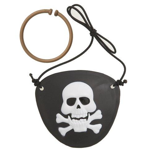 Set bende e orecchini Pirati 4 pezzi