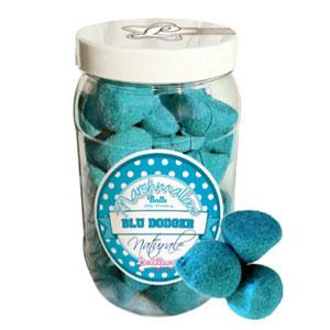Marshmallow balls blu in barattolo
