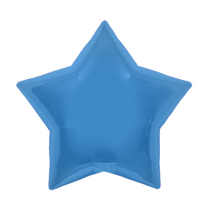 Palloncino stella blu 56 cm 1 pezzo