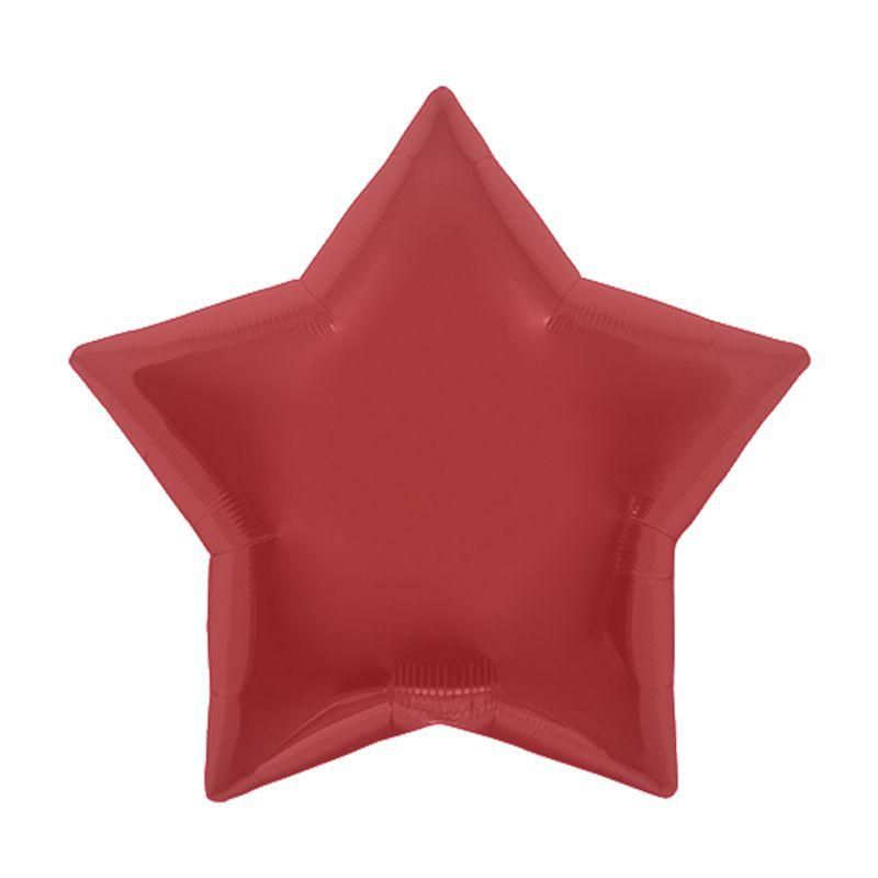 Palloncino stella rosso 56 cm 1 pezzo