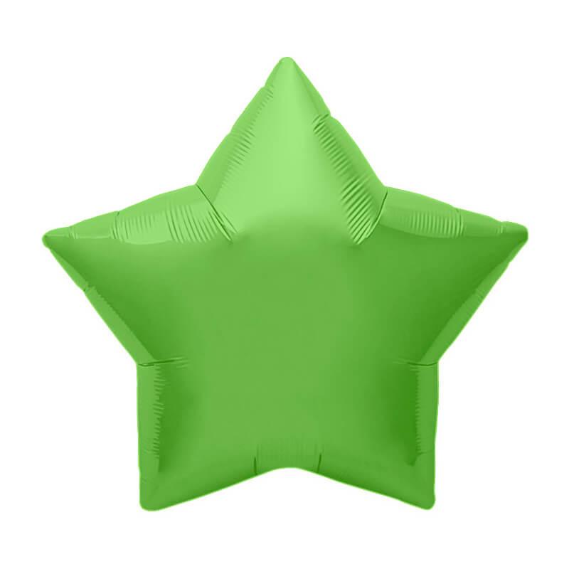 Palloncino stella verde lime 56 cm 1 pezzo