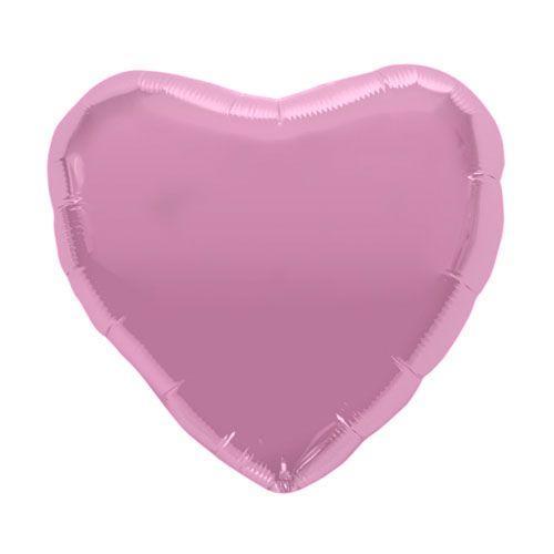 Palloncino cuore rosa pastello 46cm 1 pezzo