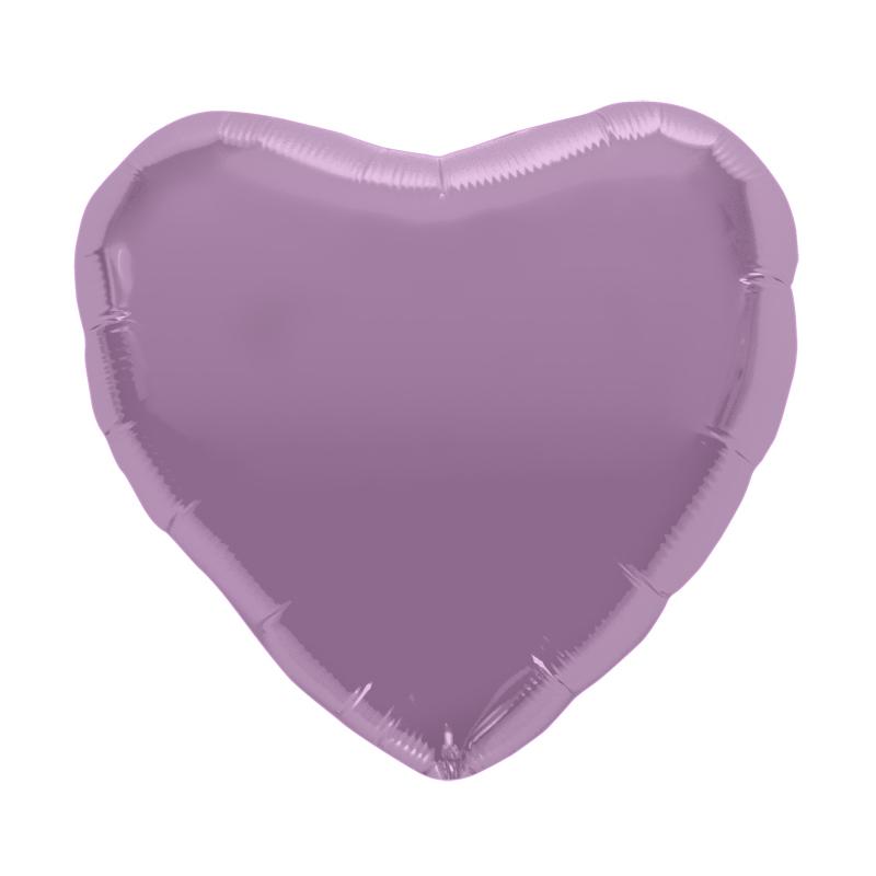 Palloncino cuore lilla L 46 cm  1 pezzo