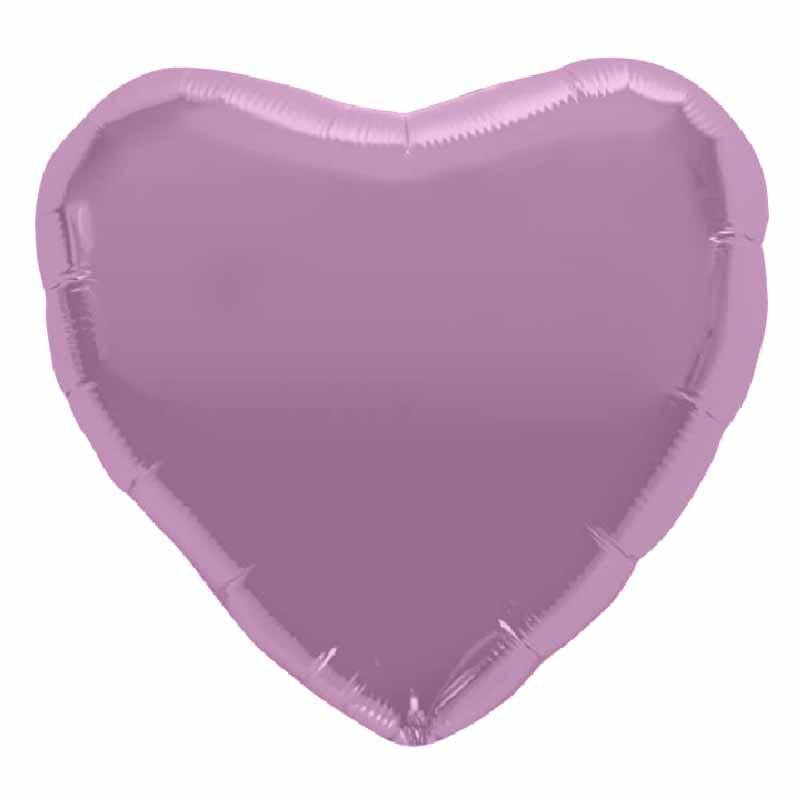 Palloncino cuore lilla 46 cm 1 pezzo