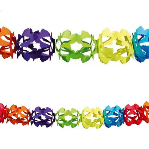 Ghirlanda Hoku multicolore 1 pezzo