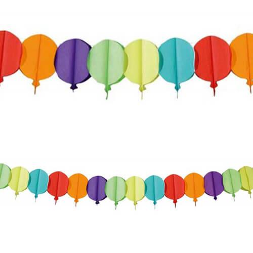 Ghirlanda Palloncini multicolore 1 pezzo