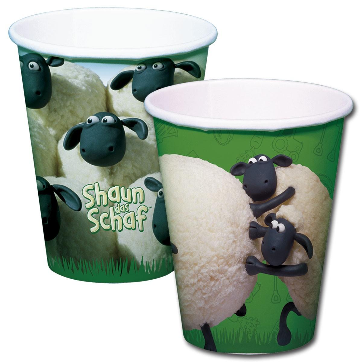 Bicchieri Pecora Shaun 8 pezzi