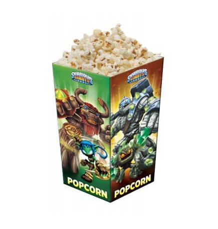 Contenitore popcorn Skylanders Giants 4 pezzi