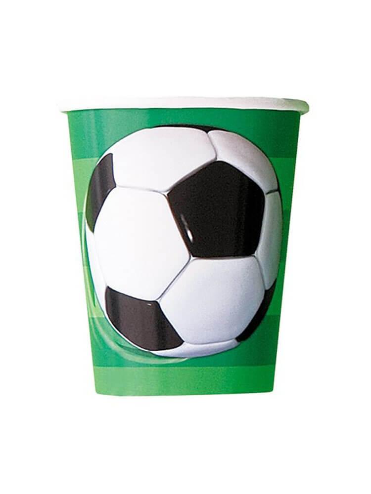 Bicchieri Campionato Calcio 8 pezzi