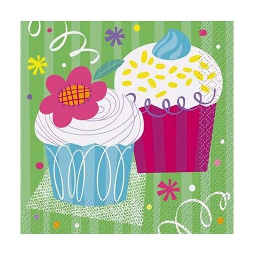 Tovaglioli Cupcake 16 pezzi