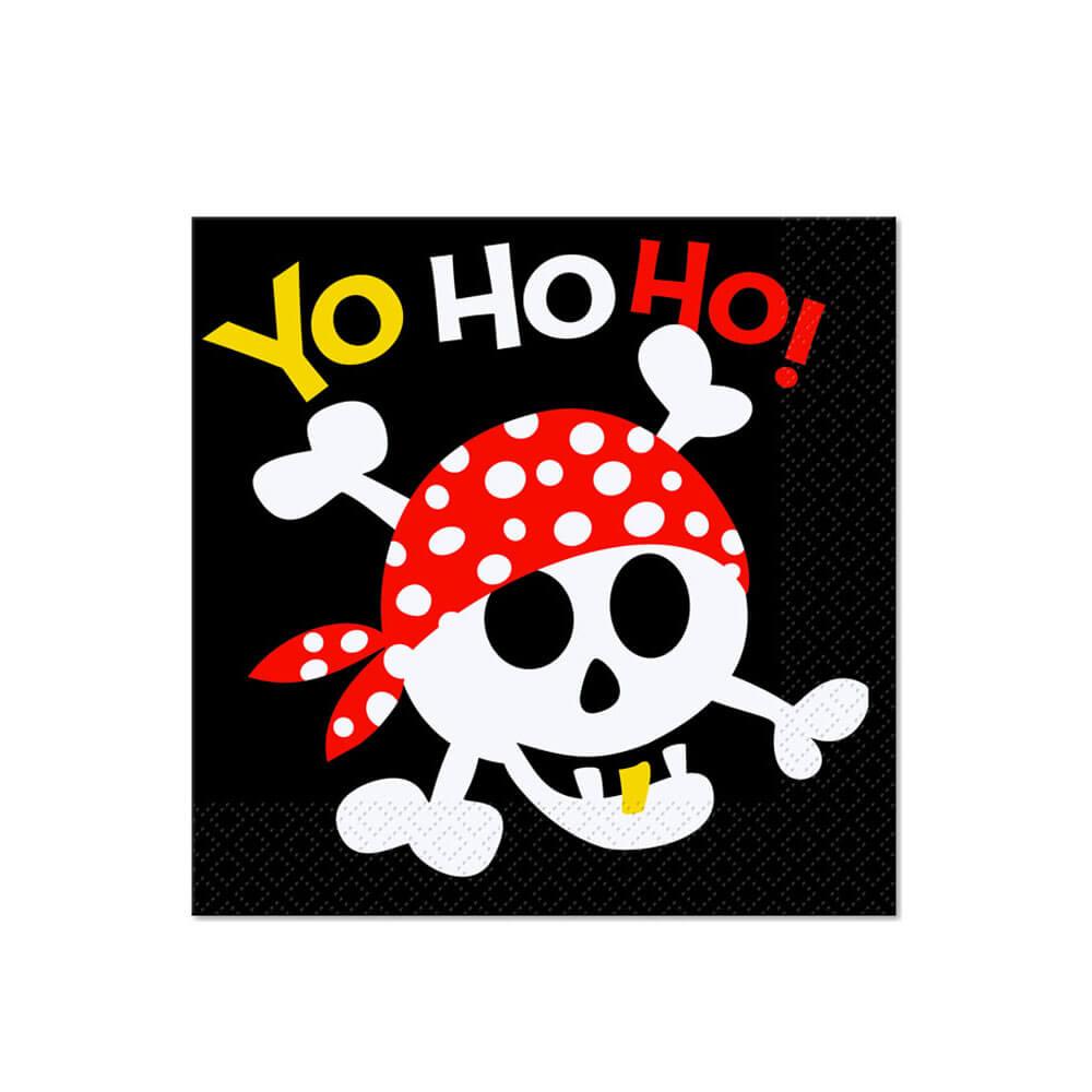 Tovaglioli pirati 16 pezzi